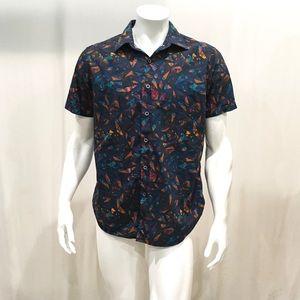 Robert Graham Men's Geometric Button Shirt